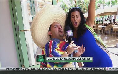 Elvis Rojas y el grito de la independencia de México