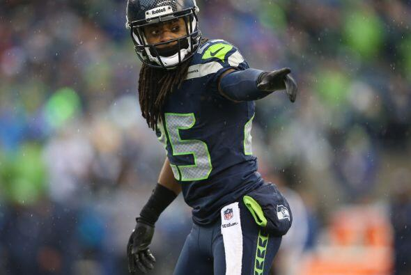 Esquinero: Richard Sherman, Seattle Seahawks.