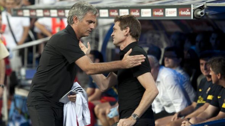 José Mourinho expresó sus condolencias por el fallecimiento de su ex riv...