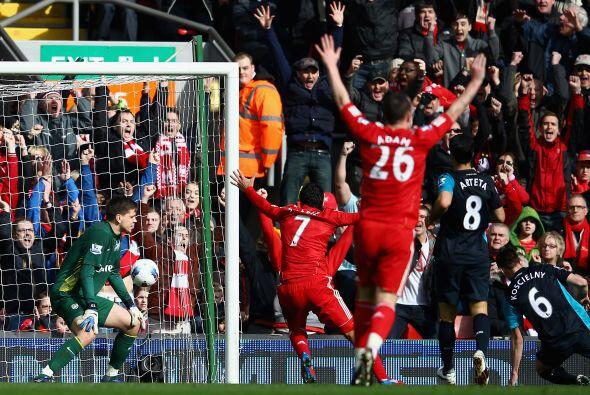 Liverpool no bajó los brazos, fue en busca del gol y lo consigui&...