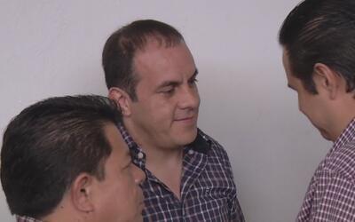 A Cuauhtémoc Blanco no lo dejaron entrar a saludar a sus ex compañeros d...