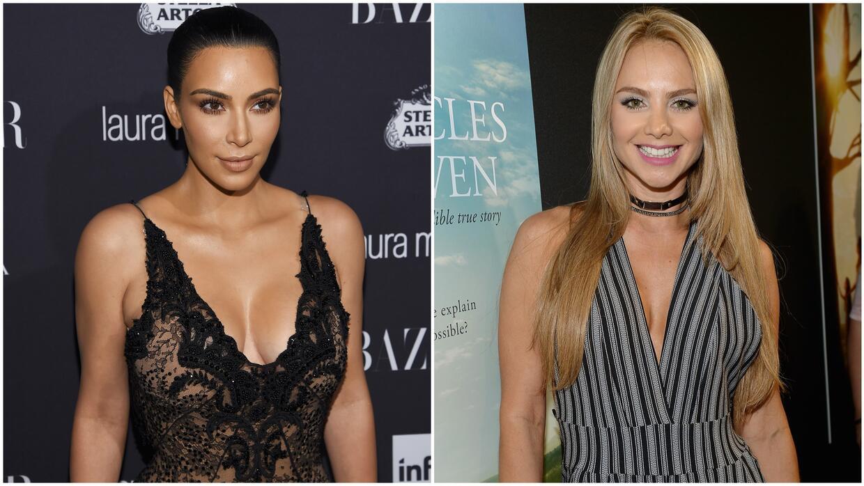 Ximena Córdoba nos mostró la técnica de maquillaje que usa Kim Kardashia...