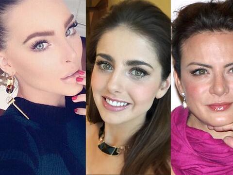 Estas mujeres tiene un rostro angelical y unos ojos bellísimos. &...
