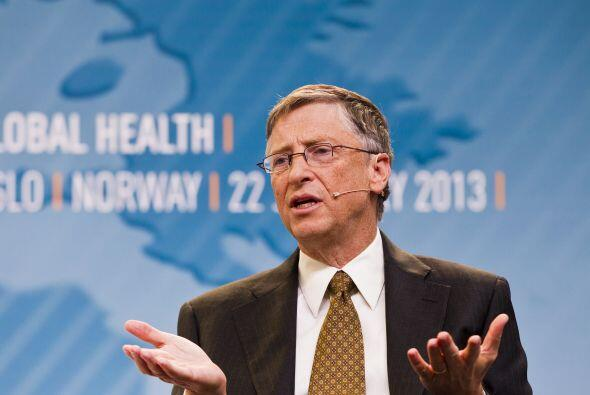 Bill Gates, Co-fundador de la Fundación Bill & Melinda Gates...