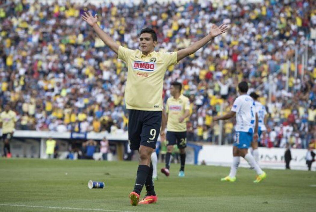 En el actual torneo Jiménez comenzó con la pólvora seca anotando 4 goles...