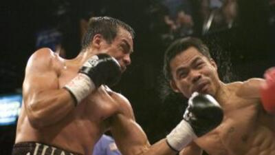 Juan Manuel Márquez y Manny Pacquiao cerca de la tercera pelea, declaró...