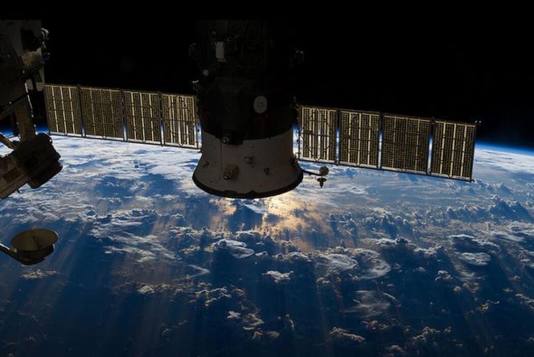 En el material fotográfico difundido por la NASA, se muestran imágenes i...