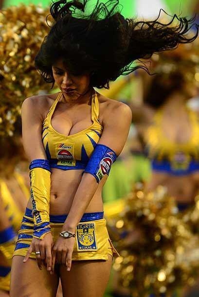 Vota por las porristas del Tigres vs. Veracruz en la jornada 8, que a pe...