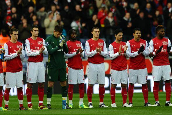 El Arsenal no tuvo piedad ante el Wigan. Le ganó 4 a 0 y se ubic&...