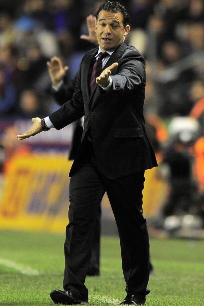 Como Técnico se encuentra el entrenador del Getafe, Luis Garc&iac...