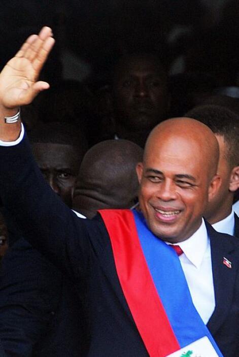 Martelly se ha ganado la simpatía de los barrios pobres de Puerto Prínci...