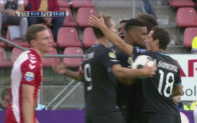 PSV inició la Eredivisie con sus mexicanos y con triunfo ante Ultrecht