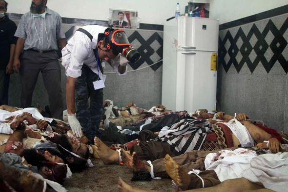 Sobre los heridos, se ha informado que son al menos 4,200.