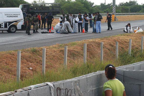 'Mientras México siga permitiendo a los criminales controlar el f...