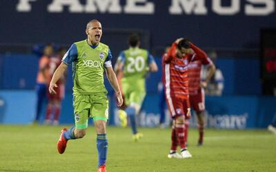 Osvaldo Alonso, el 'Pacman' cubano de Seattle Sounders.