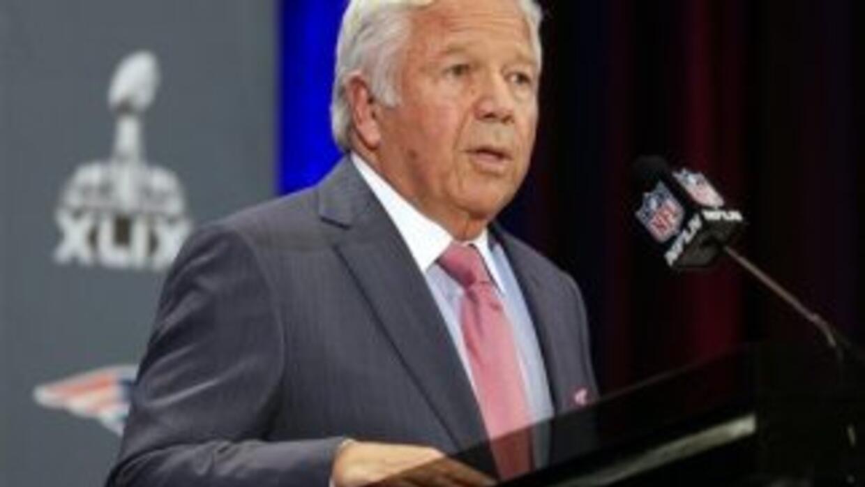 Robert Kraft dueño de los Pats (Foto: AP-NFL).