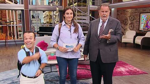 La hija de Raúl de Molina, Mia, ayudó a su padre a conducir el show