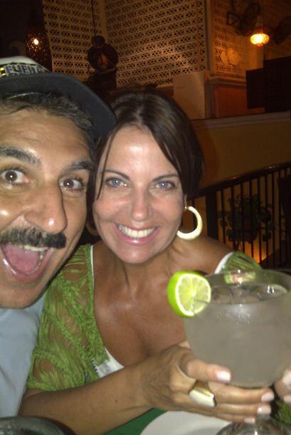 Por la noche, Fiore y Roseli celebraron en grande.