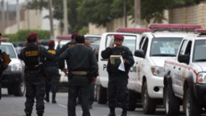 Policía de Perú.