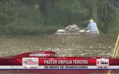 Pastor rescata ataúd en Carolina del Sur