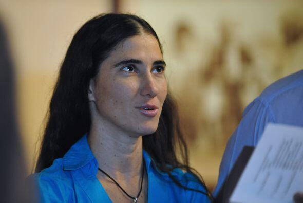 La bloguera Yoanni Sánchez ha sido una de las personas cubanas a las que...