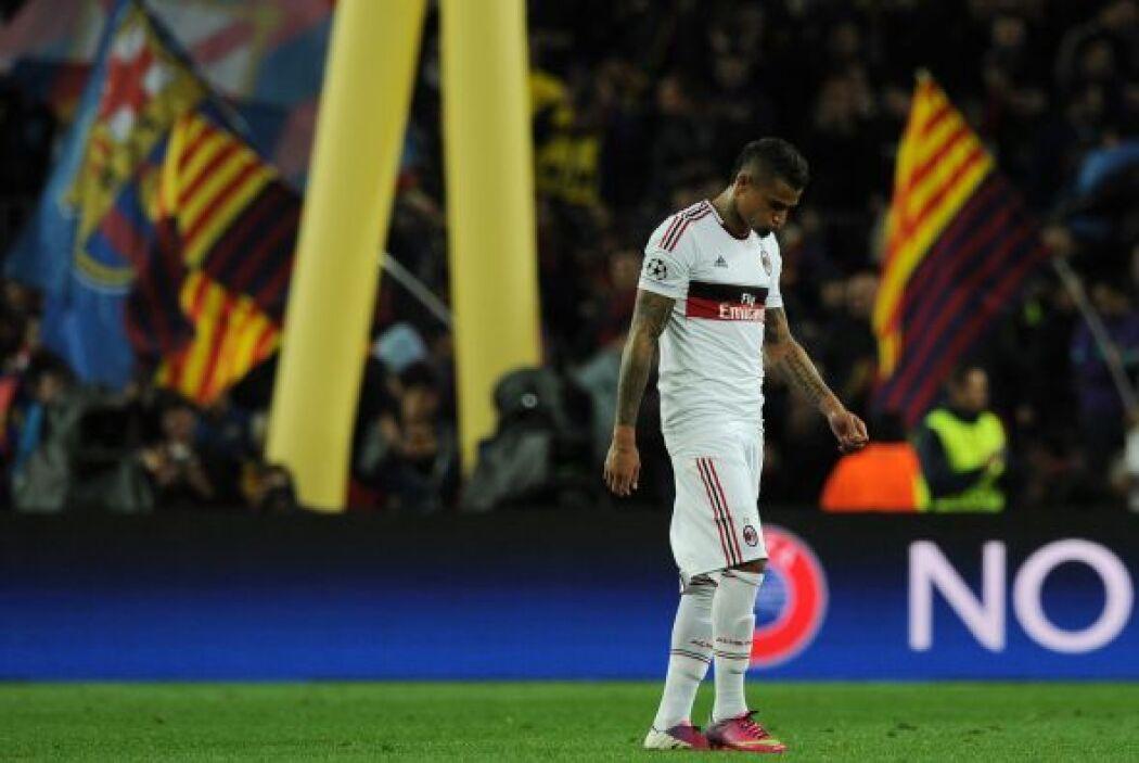 El Milan no pudo sostener la ventaja y se despide de la Champions.