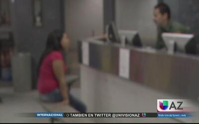 Niños indocumentados detenidos en Nogales
