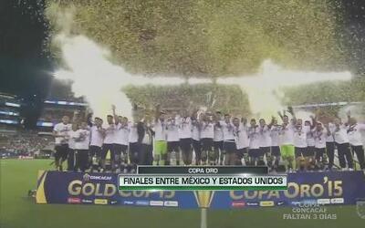 Finales de Copa Oro entre México y Estados Unidos