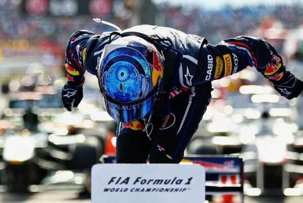 Vettel aumentó su ventaja como líder del Campeonato Mundial de Pilotos.