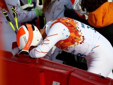 Dos acciones marcaron la jornada en Sochi 2014: Las lágrimas del estadou...