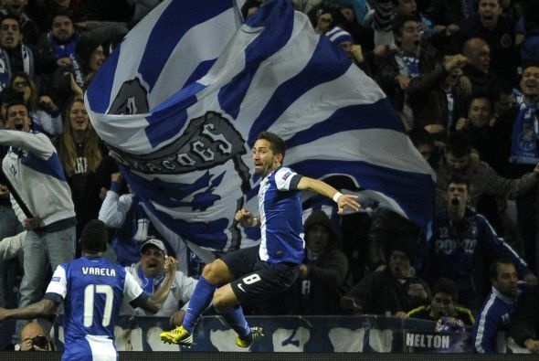 Joao Moutinho hacía el primer gol dle duelo.
