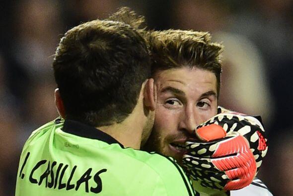 En cuanto sonó el silbato que enviaba el partido a tiempo extra, Casilla...