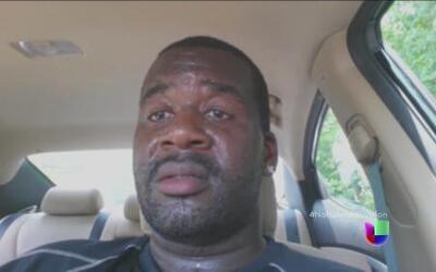 Para advertir del peligro, un padre se grabó encerrado en su auto
