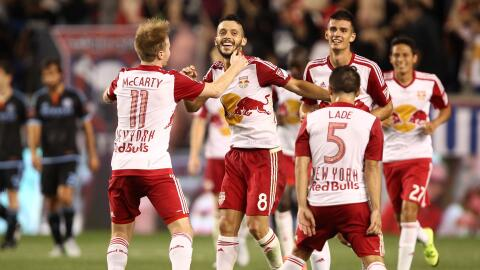 Dax MCarty y Felipe, claves para los Red Bulls.
