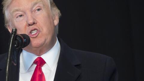 Trump habló por primera vez del tema tras la crecientes críticas por su...