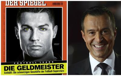 """""""El Campeón del Dinero"""" dice el diario sobre CR7."""