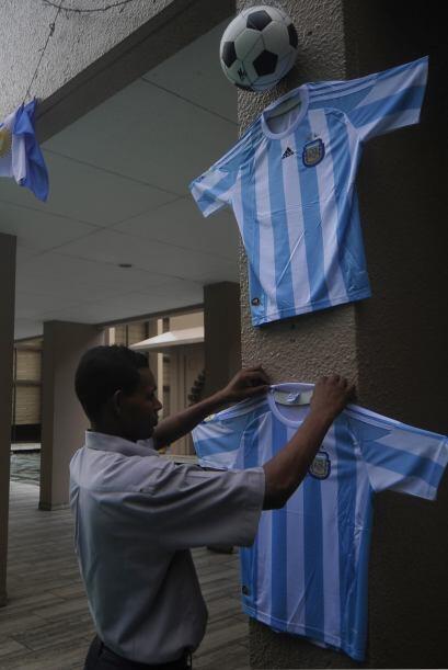 La selección argentina jugará en Blangadesh en breve d&iac...