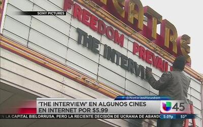 Sony estrenó The Interview
