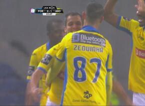 Wálter González le hace al Oporto el gol más rápido de la Liga Primeira...