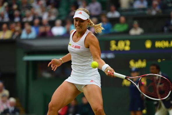 Kerber espera contrincante entre la polaca Agnieszka Radwanska y la rusa...