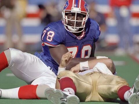 1.- Bruce Smith (1985-99 Bills, 2000-03 Redskins).- 200 capturas de quar...