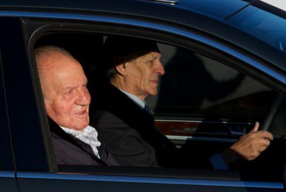 Juan Carlos pasó por el quirófano del   Hospital Universitario Quirón...