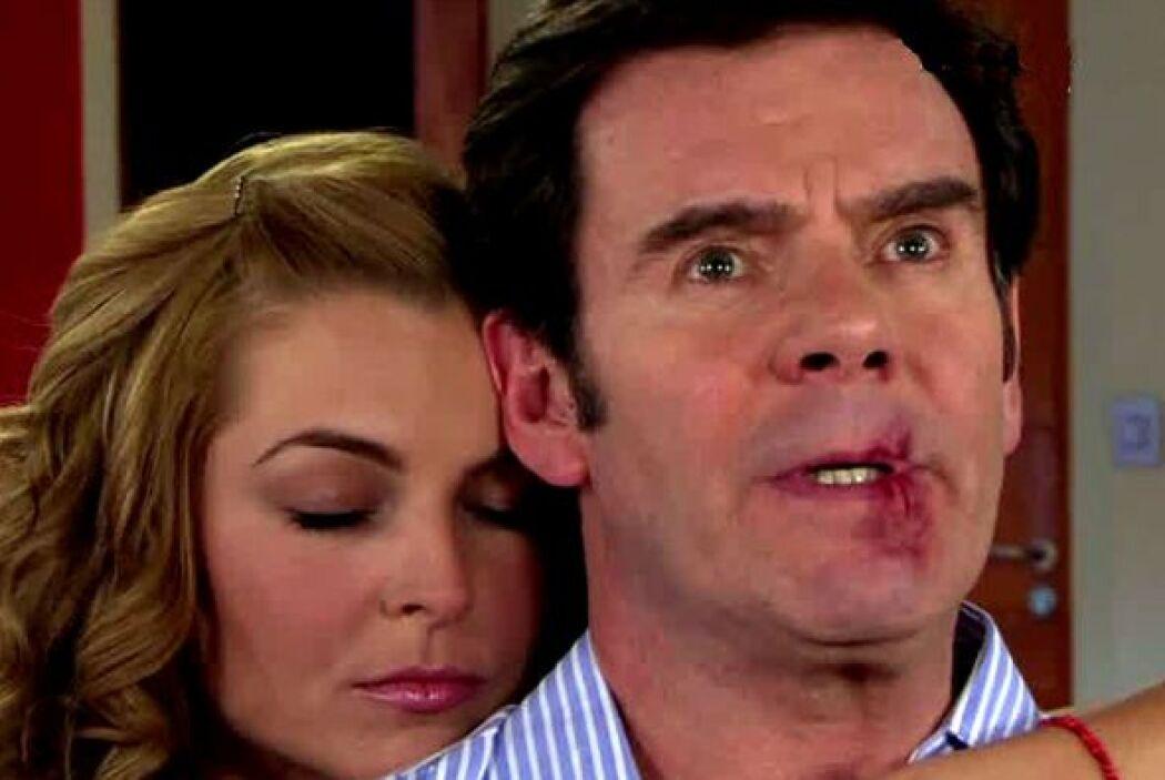 """""""Nelson"""" siendo aún esposo de """"Victoria"""", la engañó con """"Kendra""""."""