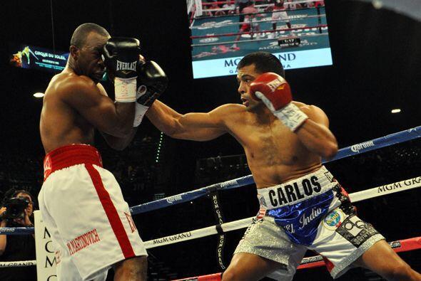 Carlos 'El Indio' Quintana tuvo una buena pelea ante DeAndre Latimore, a...