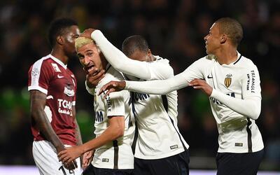 Mónaco venció 7-0 al Metz