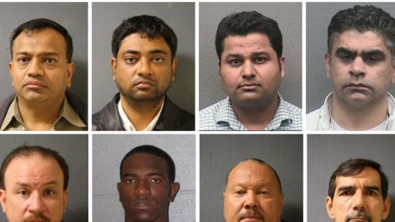 El Departamento de Policía de Houston pudo capturar a posibles clientes...