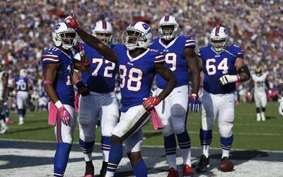 Los Bills le propinaron su primera derrota a los Rams en Los Angeles