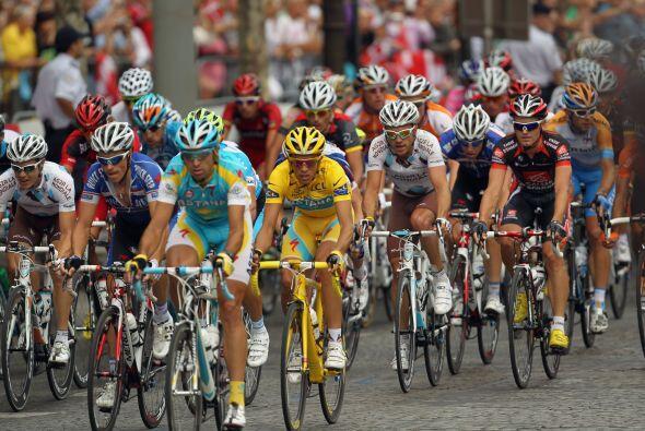 El gran esfuerzo del Tour de Francia no se quedó atrás en...