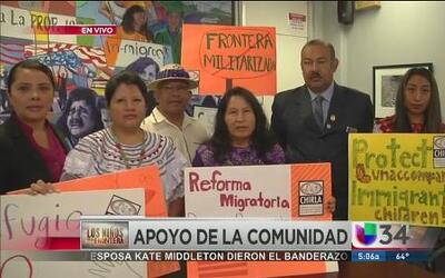 Angelinos se unen a la crisis en la frontera