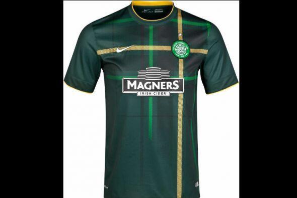 El Celtic Glasgow de Escocia siempre ha innovado con diseños originales...